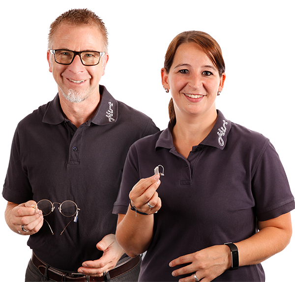 Hörgeräte und Augenoptik Spezialisten - Karina van Roijen, Michael Recklies